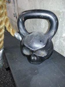 skull kettlebell
